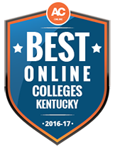 Best Online Colleges in Kentucky 2016-2016 Badge